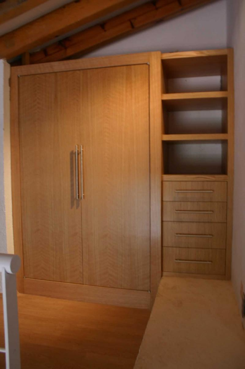 Torno y carpinter a for Interiores de closet de madera
